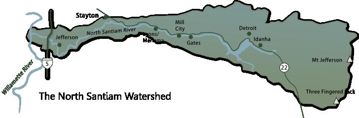 map-north-santiam-watershed